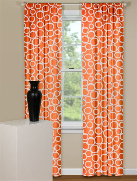 Orange Kitchen Curtains Designs 20 Curtain Designs For 2017 Geometric Designs Curtain Designs And Contemporary Curtains