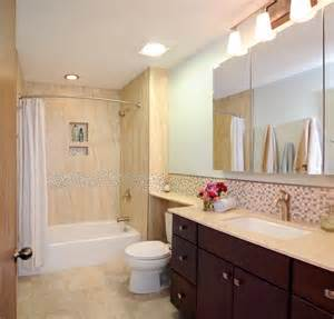 Hall Bathroom Ideas Centerville Hall Bathroom Contemporary Bathroom