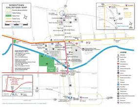 calistoga california map calistoga bike map maplets