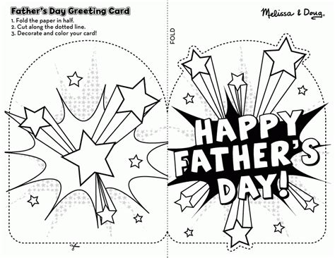 s day card template coloring free printable fathers day cards to color coloring home
