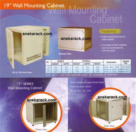 Wallmount 8u Depth 500mm Single Door aneka rack server wallmount rack