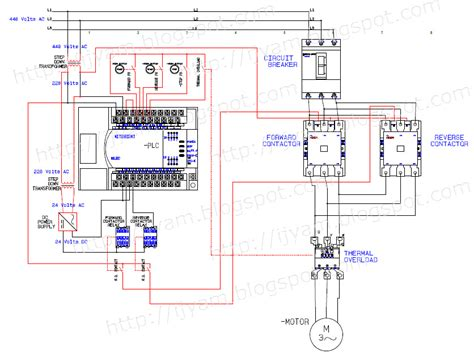 thermal relay wiring diagram electrical relay