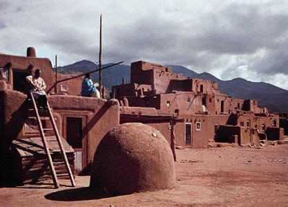 adobe taos pueblo encyclopedia children s