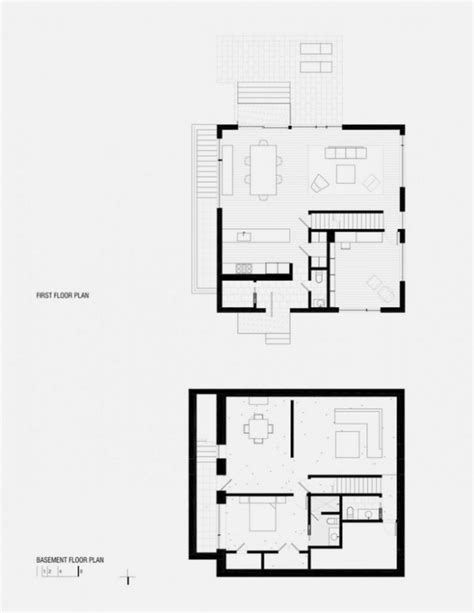 cube house floor plans minimal house with cube shape design hden