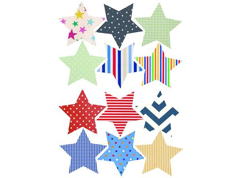 Star Wall Stickers Uk fabric star vinyl wall stickers contemporary wall stickers