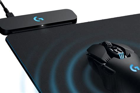 logic tech logitech s mouse mat is a wireless charging