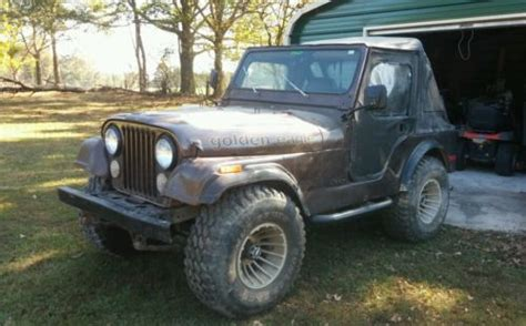jeep golden eagle for sale jeep cj cj5 golden eagle 1979 jeep cj 5 real golden