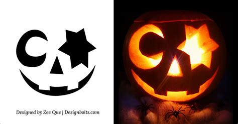 Cute, Funny, Cool & Easy Halloween Pumpkin Carving ... Pumpkin Pattern Free