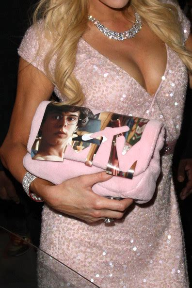 Hiltons Chanel Clutch by In At Trousdale Club 2 Zimbio