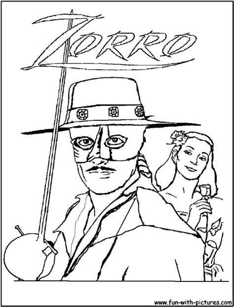 coloring page zoro zorro coloring pages online cartoon pinterest