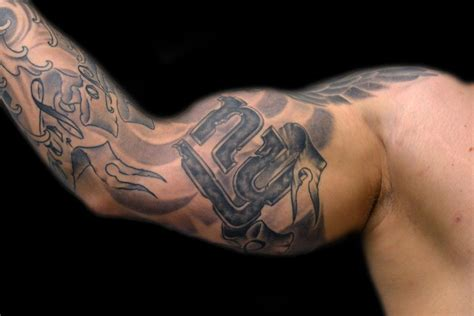 ny giants tattoo the map tattoos part arm sleeve