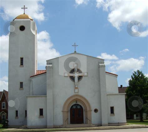 Amazing Catholic Churches Near Me #4: Cutcaster-photo-100058003-Old-Spanish-Church.jpg