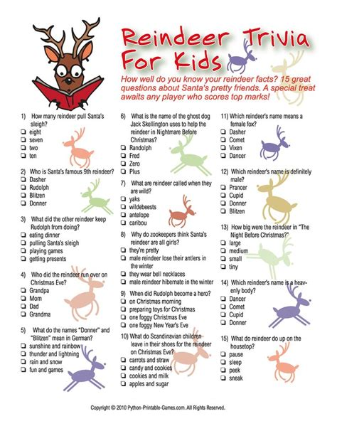 printable christmas quiz ks2 43 best kids projects activities images on pinterest