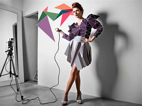 design form fashion fashion with cubic forms on behance