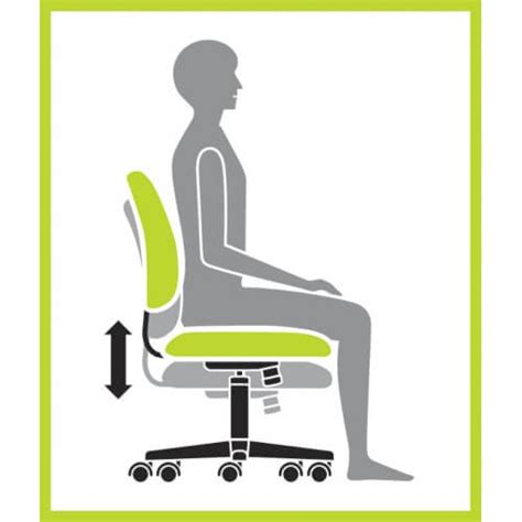 seat height how to choose an ergonomic chair 5 seat height adjustment