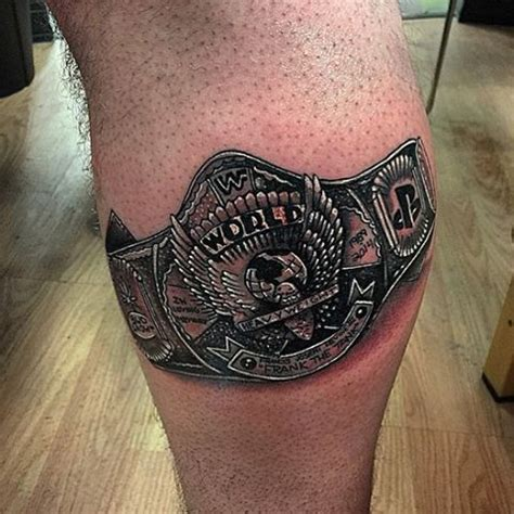 wrestling shoes tattoo pictures to pin on pinterest