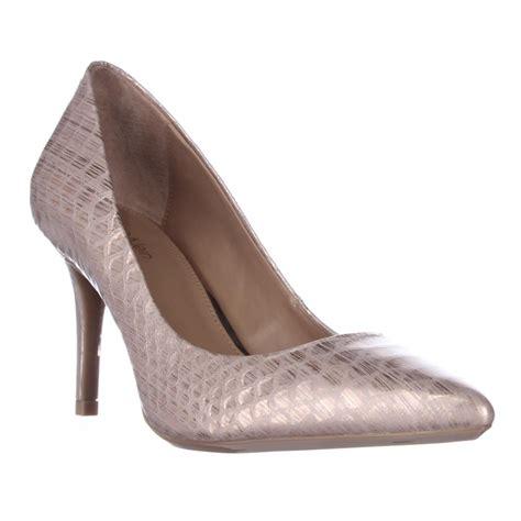 calvin klein high heels calvin klein gayle classic heels in pink lyst