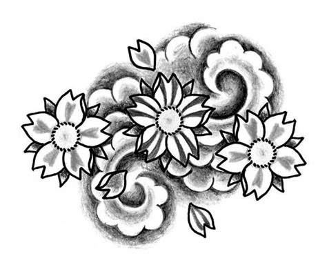 disegni di fiori giapponesi 17 best images about random pics for tattoos on