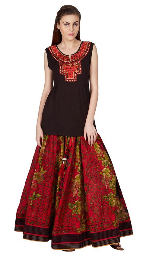 Set Printed Skirt buy indian designer printed skirt set by ritu kumar