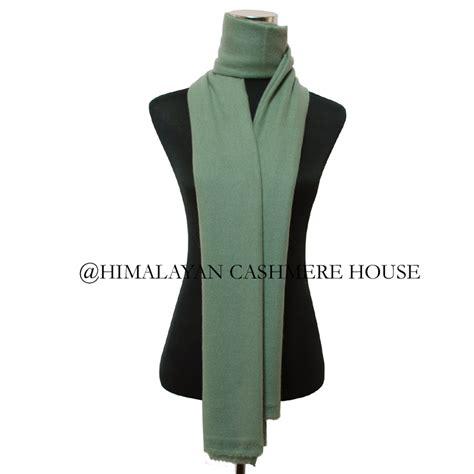 Pashmina Light Sea Green light army green pashmina shawl himalayan