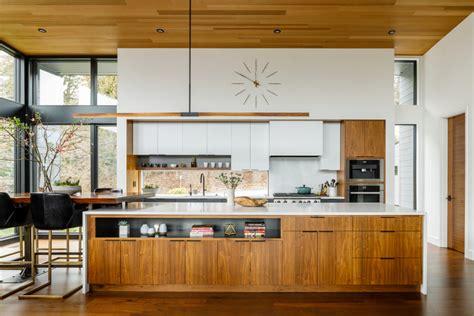 cedar island residence midcentury kitchen portland