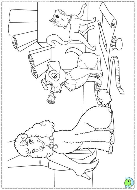 coloring pages of barbie a fashion fairytale barbie fashion fairytale coloring pages for kids dinokids org