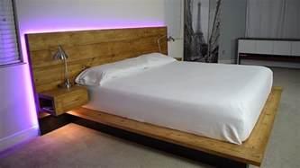 Diy Platform Bed Youtube Diy Platform Bed With Floating Night Stands Plans