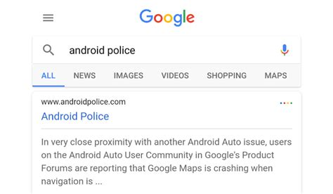 layout android google google is testing another search results layout with