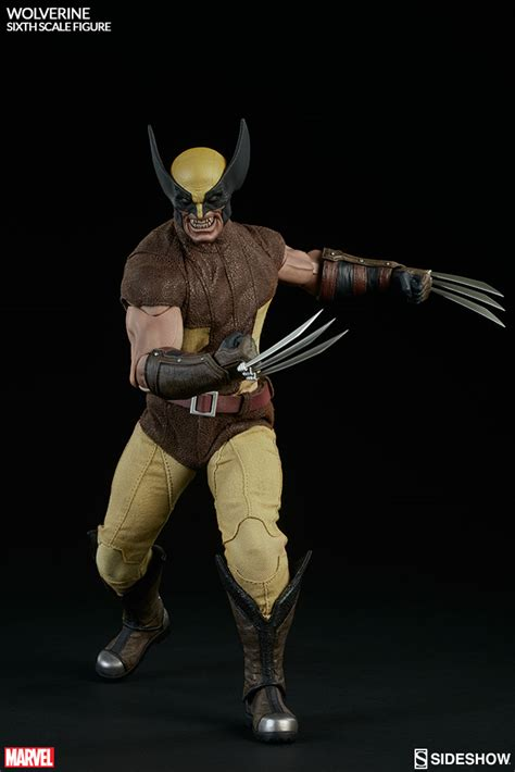 figure wolverine marvel wolverine sixth scale figure by sideshow