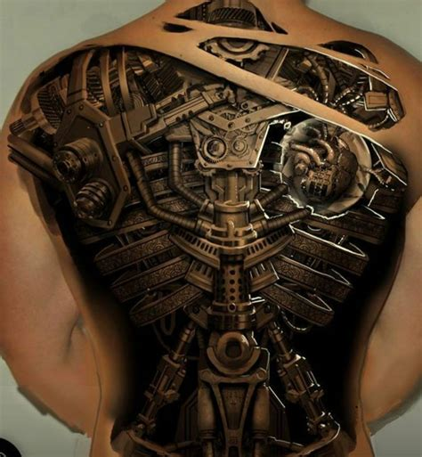 coole tattoos 3d inspirierende motive und designs