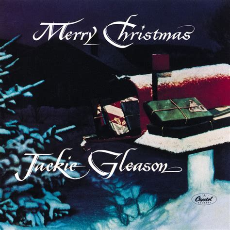 jackie gleason merry christmas cd album reissue mono discogs