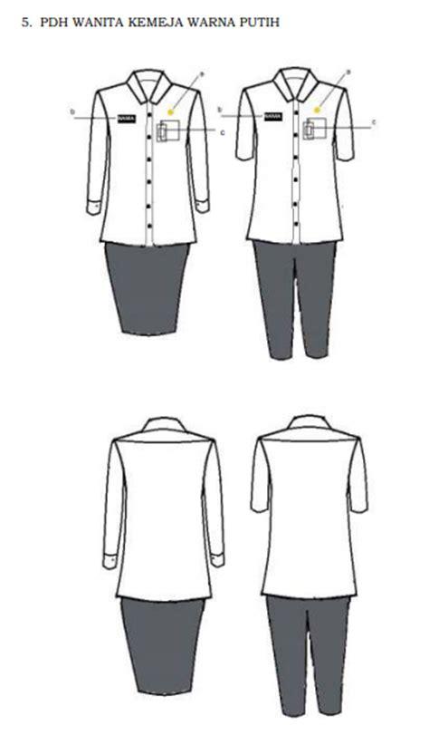 Pakaian Dinas Upacara baru permendagri nomor 6 tahun 2016 tetang pakaian seragam