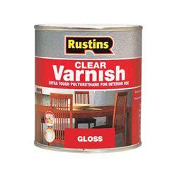 Vernish Glossy Doff 500 Ml rustins pogc500 polyurethane varnish gloss clear 500ml rapid