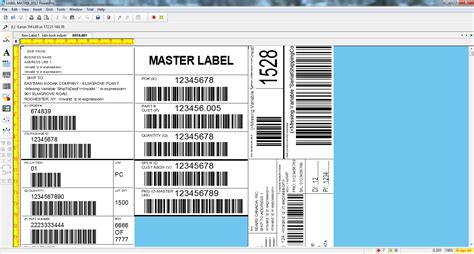 label design software excel barcode label software for any business teklynx uk