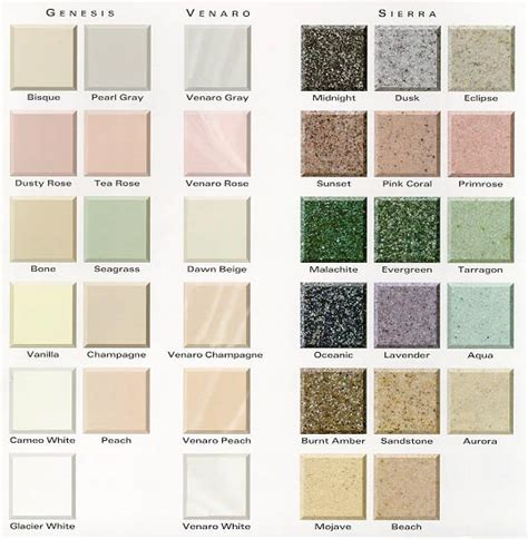 corian colors corian countertops color sles