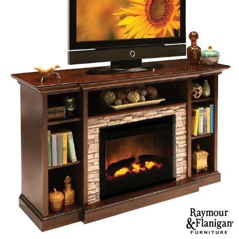 Fireplace Television Consoles by Merrick Tv Console With Electric Fireplace If You A
