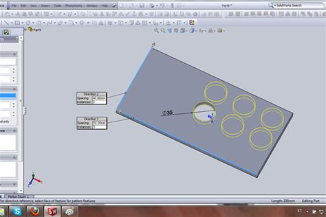 linear pattern questions tutorial how to create a linear pattern grabcad