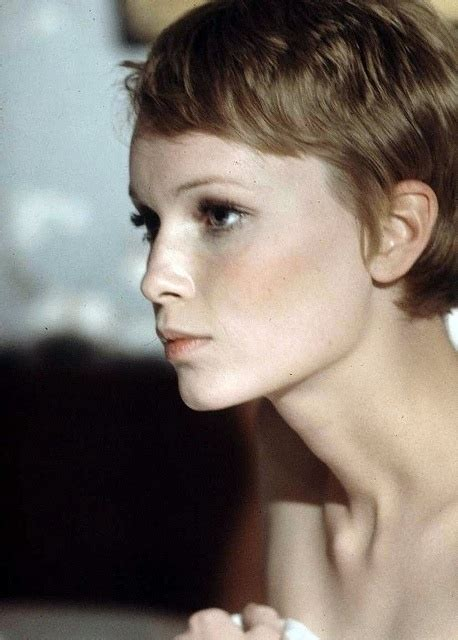 mia farrow s 6 best haircuts vogue 16 best images about wedding day makeup on pinterest