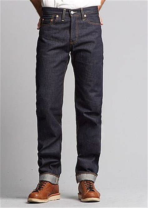 Kaos Levis 501tshirtt Shirt Levis 501 levi s vintage clothing 1954 501z rigid denim heddels scout