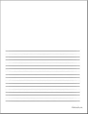 grade writing paper with picture space primary lined paper with space to draw a teaching