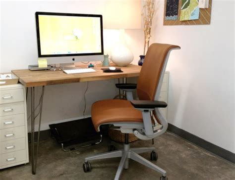Ikea Table Top Desk Hairpin Legs And Ikea Table Top Teamed With Separate