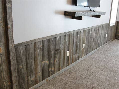 Barn Board Wainscoting by Barn Wood Paneling Woodhaven Log Lumber