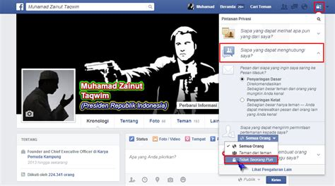 membuat akun facebook tidak bisa di add cara membuat akun facebook tidak bisa di add