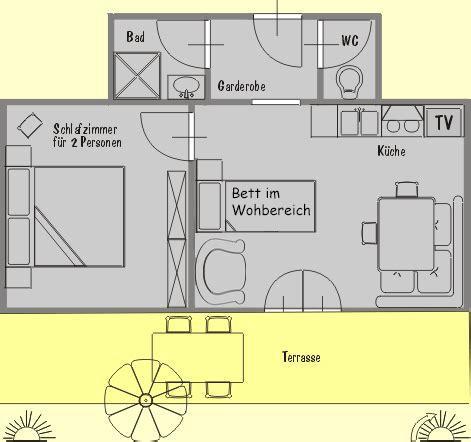 2 schlafzimmer 2 bath apartment grundrisse wohnung nr 2 f 252 r 3 personen im apartmenthaus kristall in
