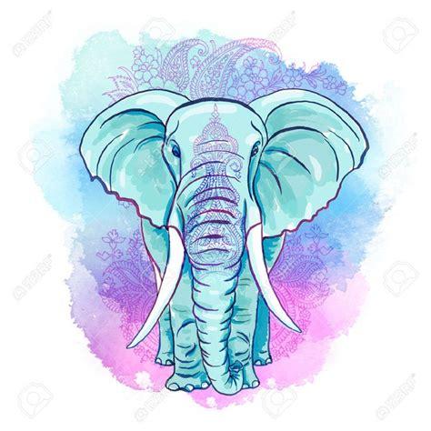 imagenes figuras minimalistas 15 pines de pinturas de elefantes que no te puedes perder