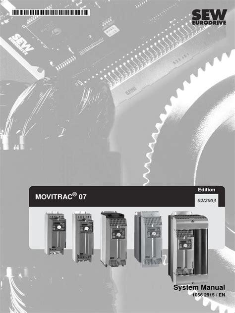 manual sew   Inversor de potencia   Compatibilidad