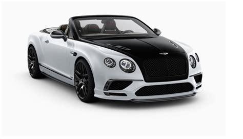 bentley supersport gt new 2018 bentley continental gt supersports convertible