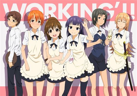 wallpaper anime working setelah tamat manga quot working quot mendapat spin off