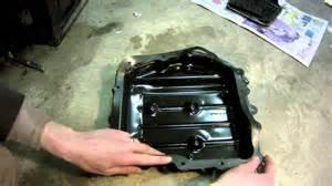 how to change transmission fluid in a dodge caravan