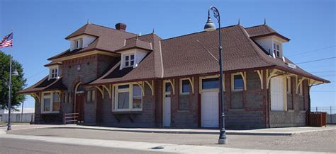 union pacific railroad depot ontario oregon